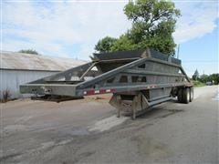 1992 Load King 1827 T/A Belly-Dump Trailer