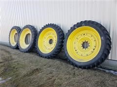 Michelen & Goodyear 320/90R50 Tires/Rims