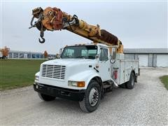 1995 International 4900 Digger Derrick Truck