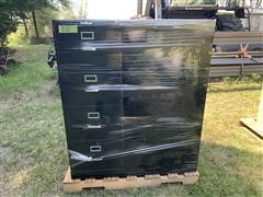 HON 4 Drawer Filing Cabinets