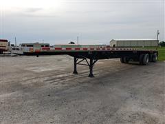 2000 Transcraft TL-200 W2 Spread Axle 48' Flatbed Trailer