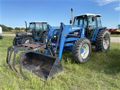 1994 Ford 8340 MFWD Tractor W/Woods-DU-AL 260 Loader