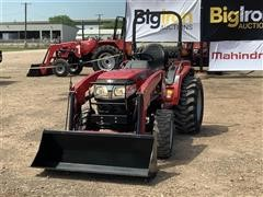 2017 Mahindra 15264FHIL Compact Utility Tractor W/Loader