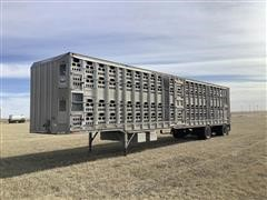 2001 Barrett Spread T/A Cattle Pot