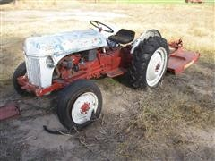 1947 Ford 9N 2WD Tractor & 584 Sunshine Shredder