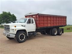 1988 Ford F800 Grain Truck