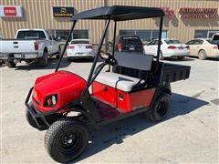 2018 Cushman Hauler 800X Gasoline Red High Output Off-Highway Vehicle