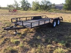 2012 Dales T/A Utility Trailer