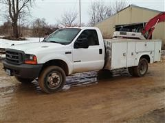 2001 Ford F450 Service Truck
