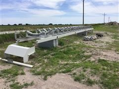 CEI Trough Conveyor Frame W/Rollers
