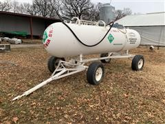 Texas Welding 1000 Gallon Anhydrous Tank