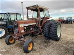 1968 International 756 2WD Tractor W/ Farmall Loader