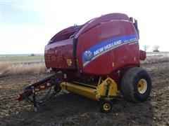 2014 New Holland RB560 Specialty Crop Round Baler