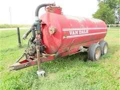 Van Dale 1500 Gal Honey Wagon