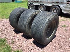 Michelin 455/55R22.5 Tires & Rims