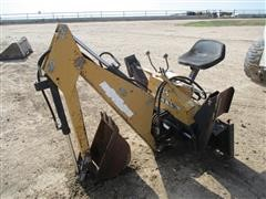 DU-AL 1015 Skid Steer Backhoe Attachment