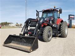 2016 Case IH Magnum 180 MFWD Tractor W/Loader