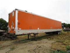 2004 Wabash 53' T/A Enclosed Trailer And Pallet Jack