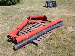 "Westfield 6"" Folding Hydraulic Drill Fill Auger W/Tail Gate Hopper"