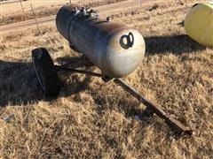 Eveready 124 Gal Propane Tank On Cart