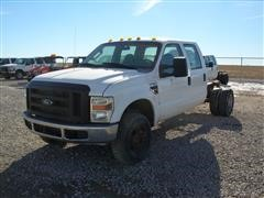 2008 Ford F-350 XL Super Duty Cab & Chassis