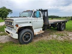 1988 Chevrolet C70 S/A Flatbed Truck