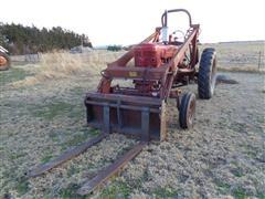 "1954 Farmall Super MTA Wide Front 2WD Tractor W/Farmhand Loader And 48"" Forks"