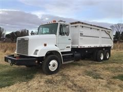 1989 Freightliner Conventional FLC112 T/A Grain/Silage Truck