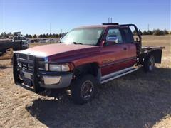 1997 Dodge Ram 2400 4x4 Flatbed Pickup