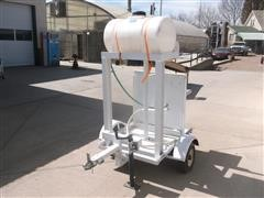 Shop Built Sanitary Wash Trailer