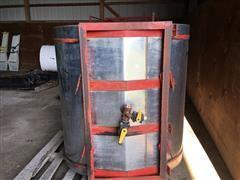 Chem Farm Stainless Steel 250 Gal Tank