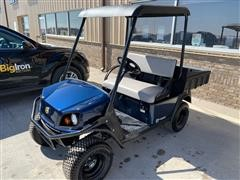 2018 Cushman Hauler 800X Blue Gasoline High Output Off-Highway Vehicle