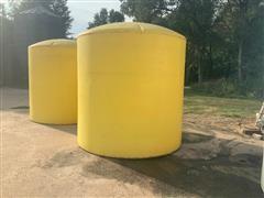 3000 Gallon Poly Tank