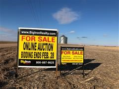 160+/- Acres Platte County, Nebraska