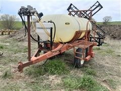 Kuker 500-Gal Pull Type Sprayer