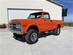1972 GMC K1500 4x4 Short Box Pickup
