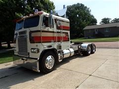 1987 Freightliner Coe Flt Cabover T A Truck Tractor Bigiron Auctions