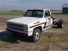 1982 Chevrolet K30 4x4 Dually Pickup Chassis