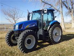 2008 New Holland T6050 Plus MFWD Tractor