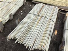 Round Fiberglass Fence Posts