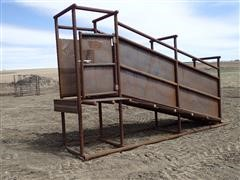 Wolles 16' Deluxe Livestock Loading Chute