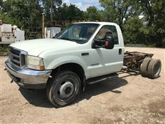 2003 Ford F550 Cab & Chassis