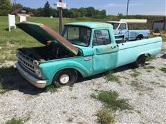 1965 Ford F100 2WD Pickup