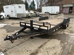 2013 P.J, Trailer Mfg Co T6202 Tilt Bed Trailer