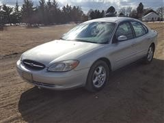 2002 Ford Taurus 4 Door Sedan