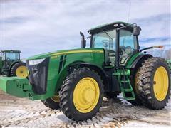 2011 John Deere 8235R MFWD Tractor