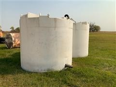 Snyder Poly Feed Storage Tanks