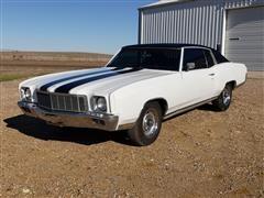 1971 Chevrolet Monte Carlo 2 Door Car