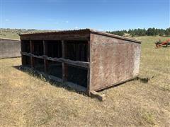 Calf Shelter/Loafing Shed On Skids