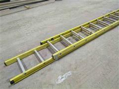 Bauer 32' Fiberglass Extension Ladder